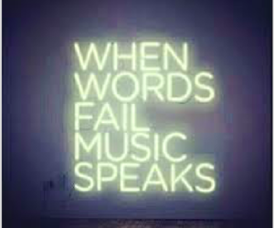 bright, music, and inspire image