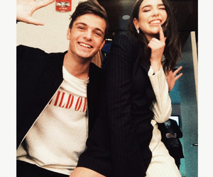 dua lipa, martin garrix, and celebrity image