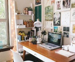 room, study, and decor image