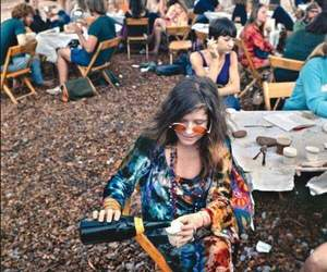 janis joplin, woodstock, and hippie image