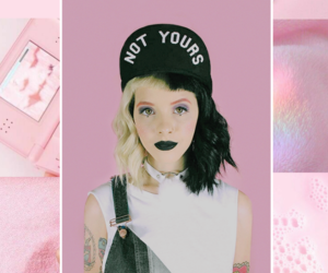 aesthetic, crybaby, and pink image