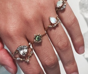 rings, jewelry, and pretty image