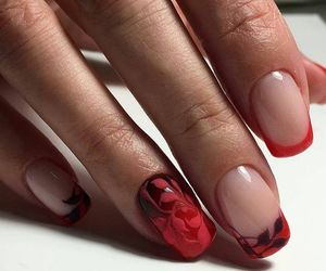 black, girl, and manicure image