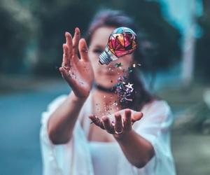 photography, girl, and art image