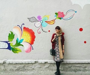 colourful, girls, and hijab image