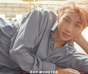 edit, kim namjoon, and k-pop image