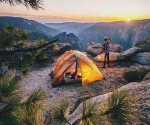 camping, wild free, and freedom image