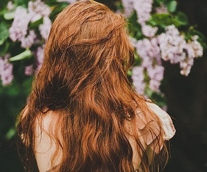 aesthetic, ginger, and girl image
