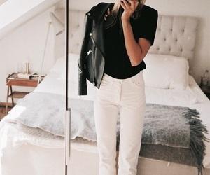 classy, mirror, and denim image