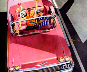 chevrolet and pink image