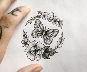 tattoo and drawing image