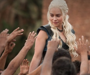 game of thrones, daenerys, and daenerys targaryen image
