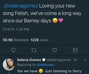 barney, demi lovato, and fetish image