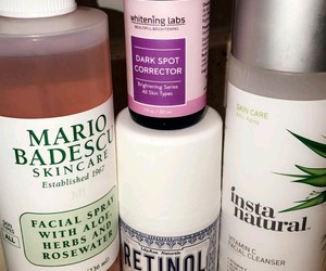 products, skincare, and self care image