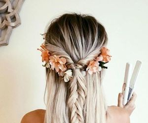 boho, hairstyle, and hipster image