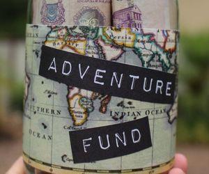 travel, adventure, and money image