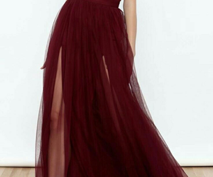 dress and burgundy prom dresses image