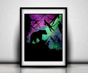 etsy, bear girls nursery, and nursery bear decor image