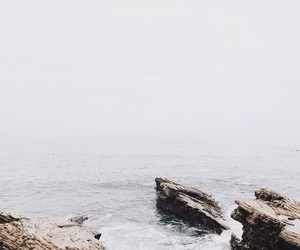 fog, ocean, and forget image