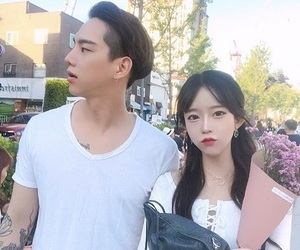 asian, couple, and goals image
