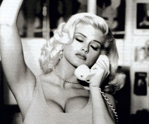 anna nicole smith, style, and beauty image