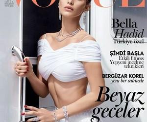 bella hadid, vogue, and model image