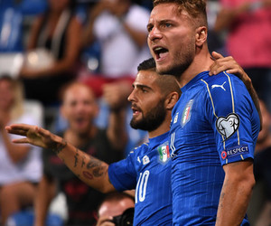 immobile, italy nt, and insigne italy image