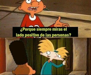hey arnold, quote, and cartoon image