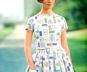1960's, dress, and fashion image