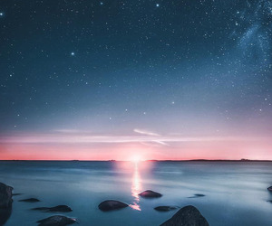 stars, finland, and sky image