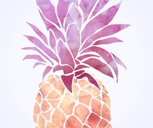 pineapple, wallpaper, and pink image