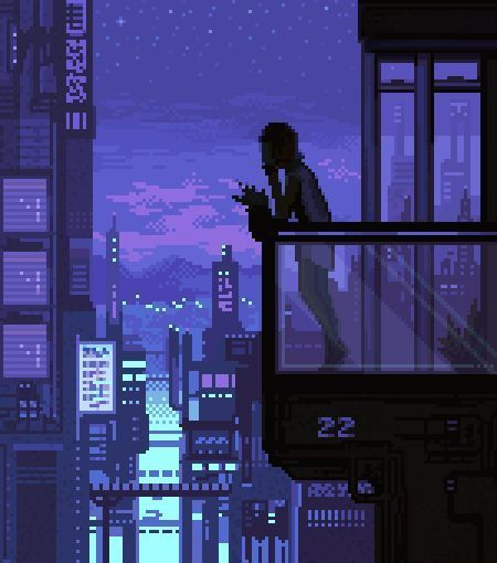 pixel, art, and night image