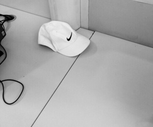 nike, pale, and white image