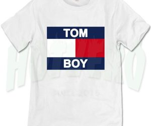 t shirt, tom boy, and tommy image