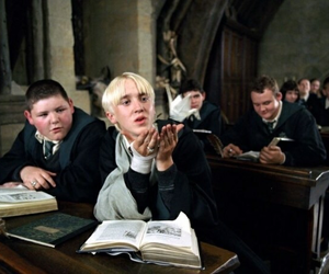 harry potter, draco, and ♡ image