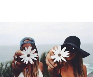best friends, summer, and bff image