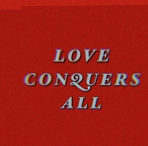 red, quotes, and love image