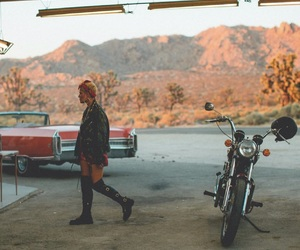 halsey, aesthetic, and badlands image