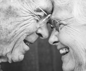 love, couple, and happy image