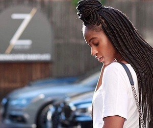 African, beautiful, and girl image