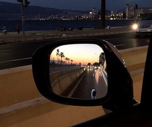 car, city, and palms image