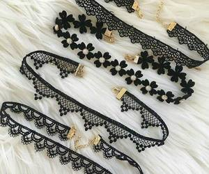 choker, black, and accessories image