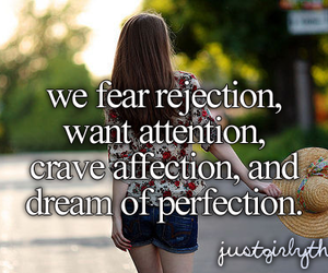 perfection, quotes, and attention image