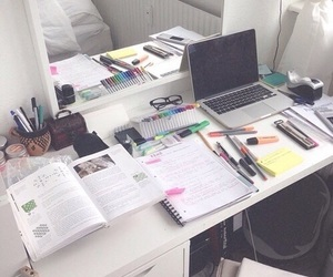 study, school, and book image