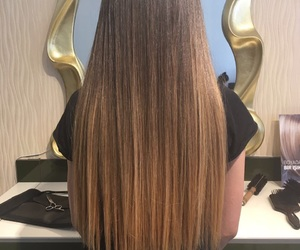 hair, balyage, and ombrehair image