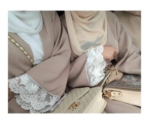creamy, hijab, and sisters image