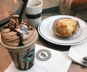 food, frappuchino, and frappe image
