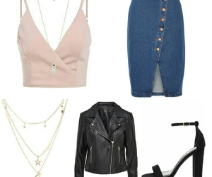 clothes, jacket, and jeans image