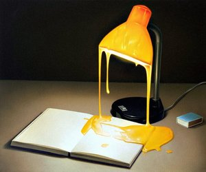 dripping, yellow, and melting image