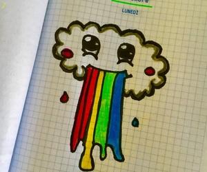 tanti colori, disegnini, and nuvoletta image